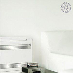 SRF ZMX-S vloermodel - Airco voor in huis