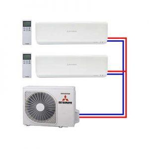 Multi Split Airco Systemen
