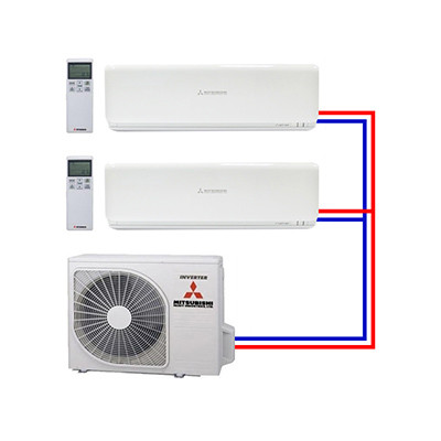 Multi split airco systemen van Mitsubishi Heavy Industries - Airco voor in huis
