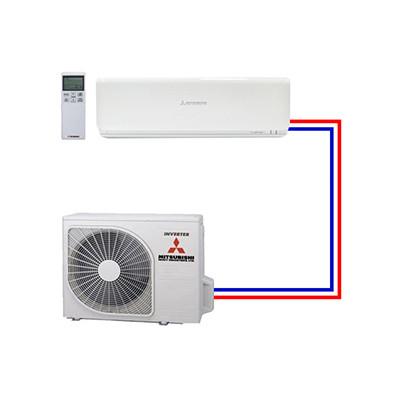 Single split airco systemen van Mitsubishi Heavy Industries - Airco voor in huis
