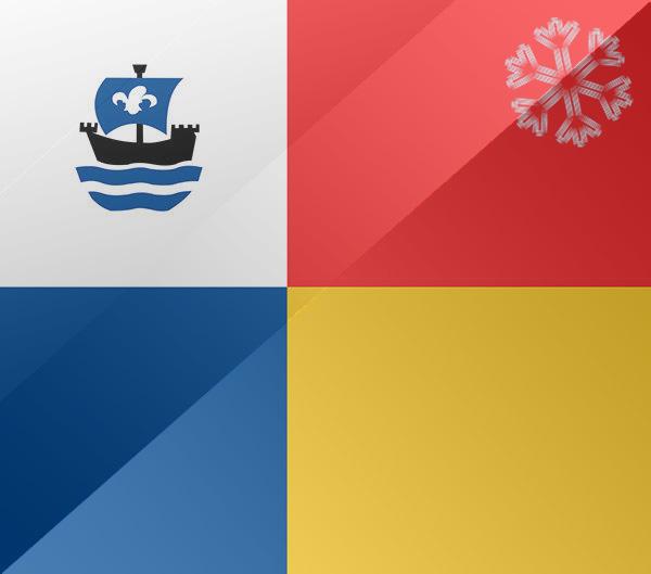 De vlag van Almere