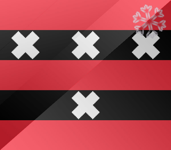 De vlag van Amstelveen