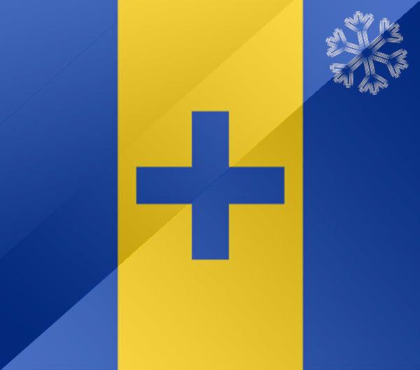 De vlag van Baarn