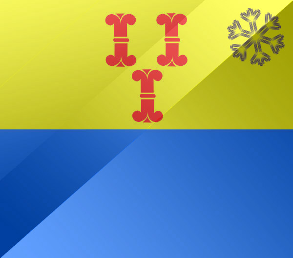 De vlag van Barneveld
