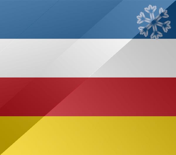 De vlag van Dokkum