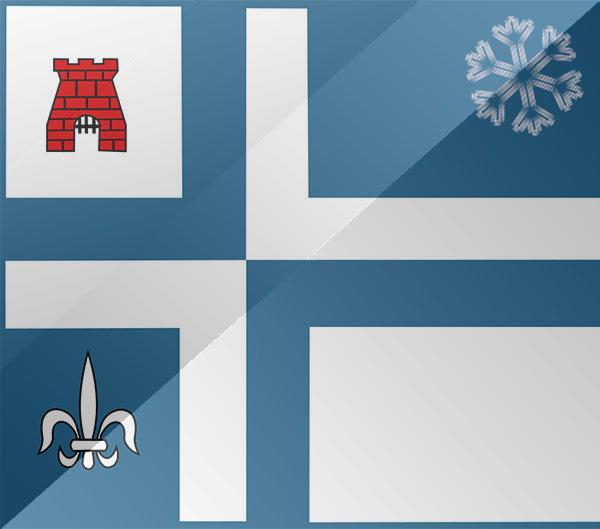 De vlag van Emmeloord