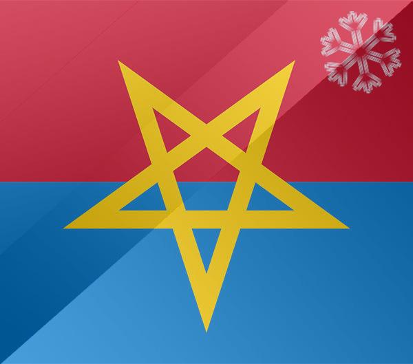 De vlag van Haaksbergen