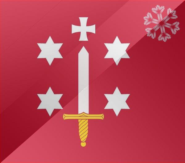 De vlag van Haarlem