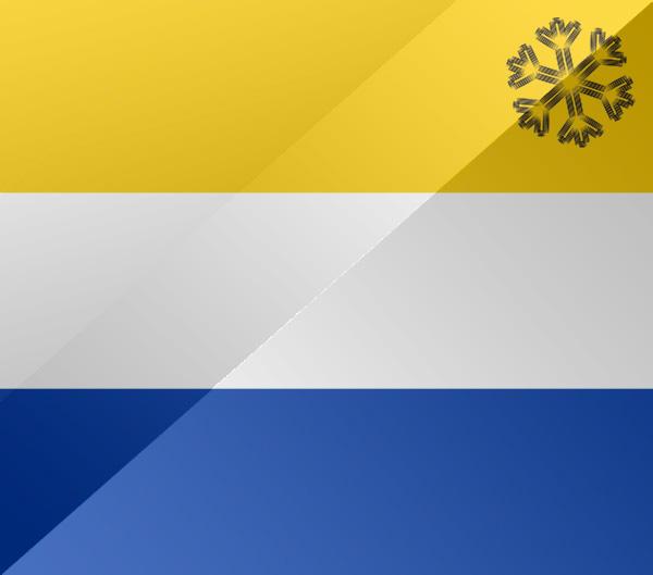 De vlag van Heerhugowaard
