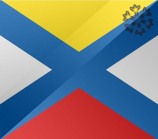 De vlag van Katwijk