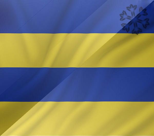 De vlag van Leeuwarden