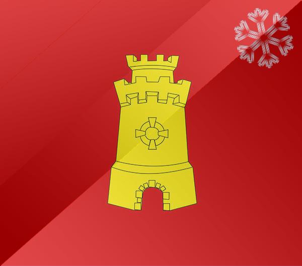 De vlag van Middelburg
