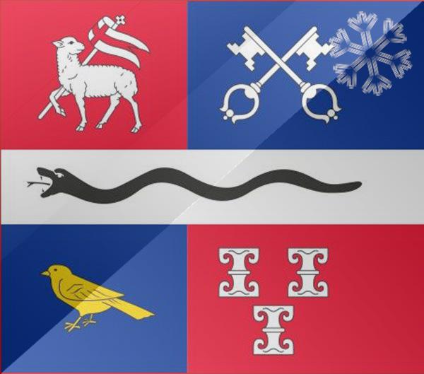 De vlag van Mijdrecht