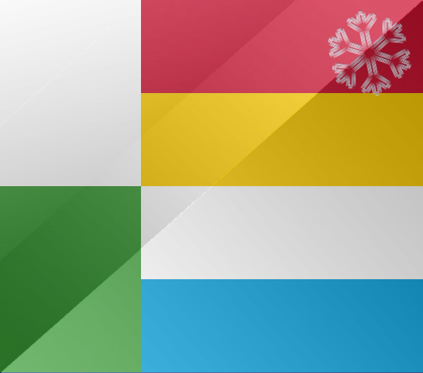 De vlag van Oss