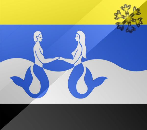 De vlag van Renesse