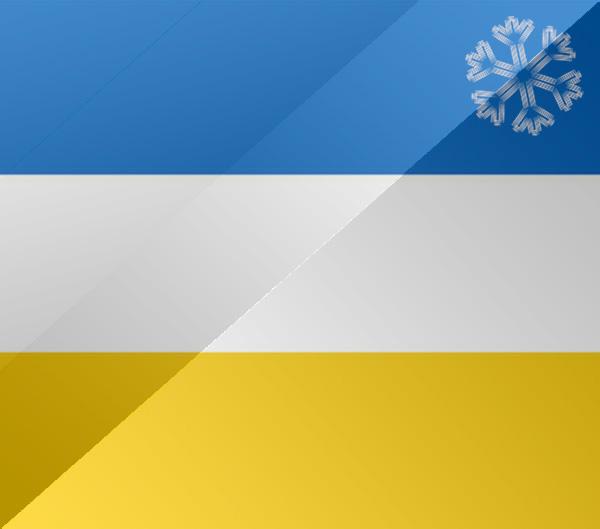 De vlag van Spijkenisse