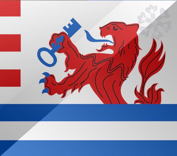 De vlag van Terneuzen
