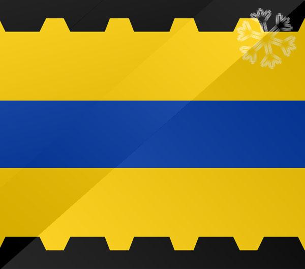 De vlag van Veenendaal