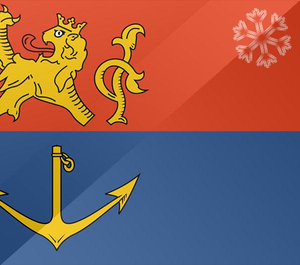 De vlag van Venlo