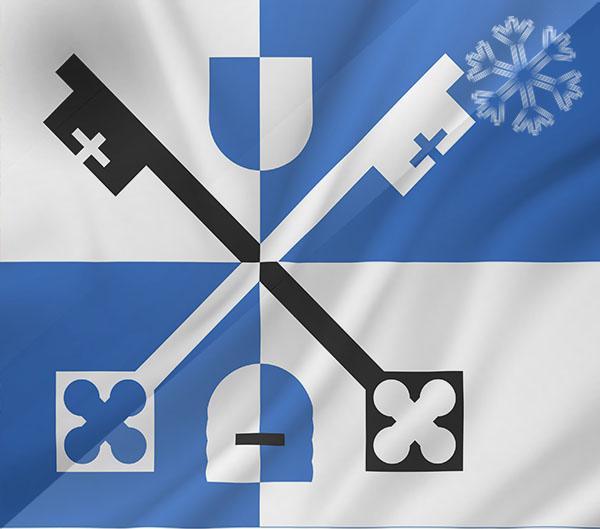 De vlag van Venray