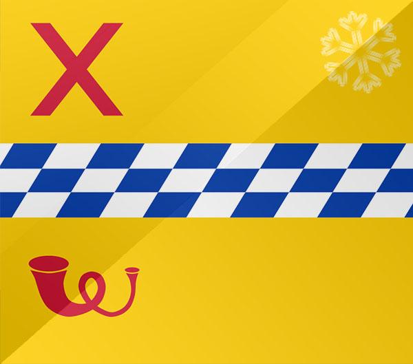 De vlag van Woerden