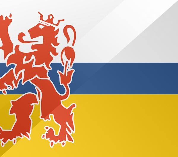 De vlag van Limburg