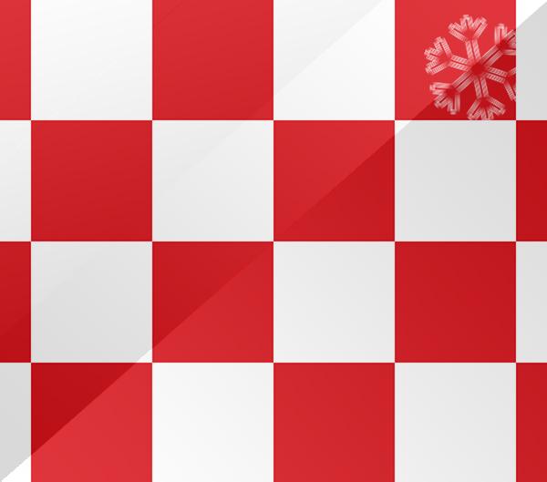 De vlag van Noord-Brabant