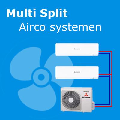 Multi split airco systemen - Airco voor in huis